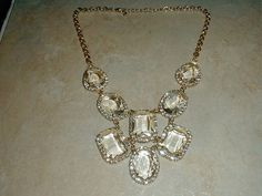 gorgeous vintage gp huge faceted austrian by fadedglitter42263, $245.00