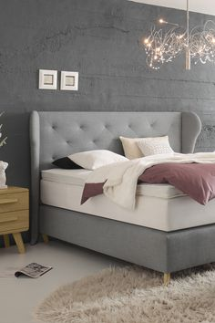 All Details You Need to Know About Home Decoration - Modern Cozy Bedroom, Bedroom Storage, Master Bedroom, Bedroom Decor, Bedroom Ideas, Bed Cover Design, Home Grown Vegetables, Bed Springs, Double Beds