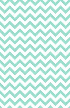 mint chevron wallpaper