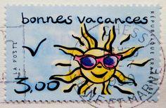 beautiful stamp France 3.00 F