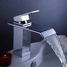 LightInTheBox Single Handle Waterfall Bathroom Vanity Sink Faucet