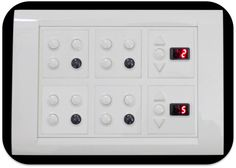 Fully Functional 9 Lights - 2 Fans - Power Socket Switch unit