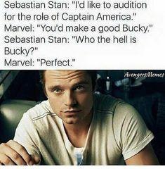 Bucky Barnes, Sebastian Stan