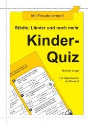 Die Kinder sollen Quizfragen mit erdkundlichen Themenstellungen  beantworten. Die einfache Selbstkontrolle ist durch Lösungswörter  gewährleistet.