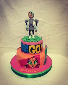 Teen titans go cake