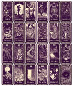 Light Visions Tarot,  Major Arcana