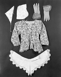 17th century jacket and accessories.
