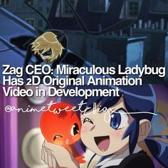 more info: Zag Entertainment founder CEO and producer Jeremy Zag confirmed last month that Zag Entertainment and Toei Animation are co-producing a 2D-animated OVA for its Miraculous: Tales of Ladybug & Cat Noir series. In addition series director Thomas Astruc confirmedthat the OVA will feature the newer design of Cat Noir/Adrien based on the CG animated series instead of the design featured in the 2012 promotional video. The series goes as:  The 26-episode series follows two junior high…