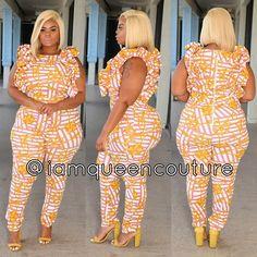 Plus size jumpsuit Curvy Plus Size, Plus Size Girls, Plus Size Women, Curvy Outfits, Sexy Outfits, Plus Size Outfits, Curvy Women Fashion, Plus Fashion, Chic And Curvy
