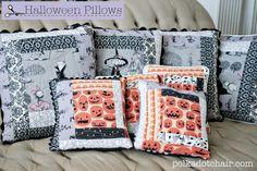Ghastly Halloween Pillows
