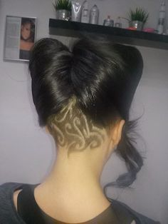 Hair tattoos for girls, from Poland!