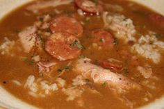 MMM this is my go to gumbo recipe, its authentic and DELICIOUS!! i also add a little tony's seasoning for more spice!