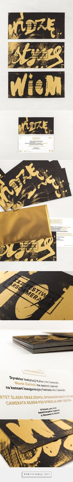 Ars Cameralis Festival 2013 — invitations on Behance