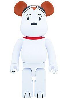 6efb23cb Medicom Peanuts Snoopy Flying Ace 1000 Percent Bearbrick by Medicom $720.54  http://ultrabearbrick