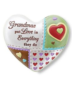 Grandma's Love -- What a great design -- possibly for embroidery, art, quilting, etc.