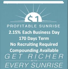215 each business day only 170 days term no recruiting required http