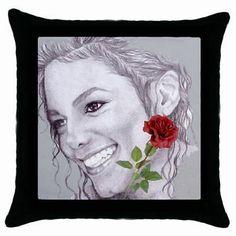 Miss You Michael, Michael Jackson Collectible Art Throw Pillow Case 14,82€
