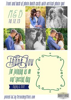 This would make a great parting gift!  And, I could use your engagement photos.