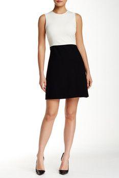Theory Raneid Fixture Sleeveless Dress