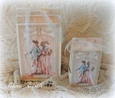 Gunn-Eirill`s Paper Magic: Gift boxes with templates/ DT Scrappehjertet