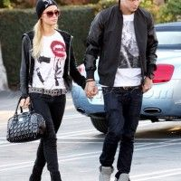 Paris Hilton in Happiness Tee