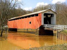 Hills Covered Bridge Marietta Ohio | Flickr - Photo Sharing!