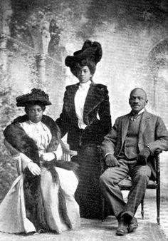 Cowboys and Mink | Black Family Series Nate Love with wife and daughter. Nat Love (1854 – 1921) was an African-American cowboy and former slave in the period following the American Civil War. His...