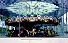 Jane's Carousel in Dumbo - originally built in 1922
