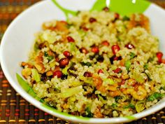 The Veggie Table: Quinoa with Brussels Sprouts and Pomegranate