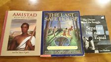 Lot of 3 Books African Am. History for kids Amistad Separate but not Equal ...