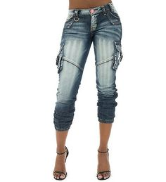 baby phat jeans for Women | BABY PHAT Jeans Blue CARGO JEAN - Jeans and Dresses - Man Alive