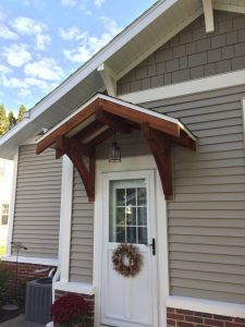 Corbel Bracket Mission Arts and Craft Bungalow porch, mantle ...