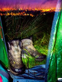 My boots above Huddersfield