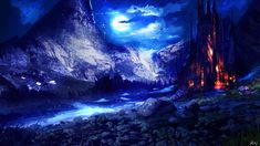 The power of the moon by ryky.deviantart.com on @DeviantArt