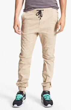 Free shipping and returns on ZANEROBE 'Sureshot' Slim Tapered Leg Jogger Chinos at Nordstrom.com. Ultrasoft drop-crotch jogger-style chinos are constructed with inner leg panels for a more relaxed fit though the seat and thighs. The legs taper to tight elastic hems that can be worn higher on the legs for wading through water or working out.