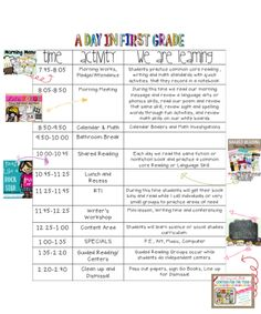 A Day in First Grade   Fabulous in First   Bloglovin'