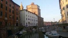 View of  Livorno (Italy)