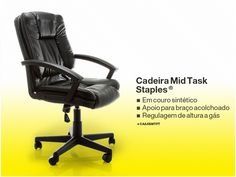 CADEIRA MIDTASK™ STAPLES®