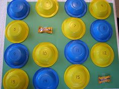 Candy Memory Game...........doing this at the next birthday party!!!