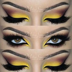 Colorful Smokey Eyes Makeup