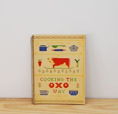 Vintage cookbook, Cooking the Oxo Way, cookery pamphlet