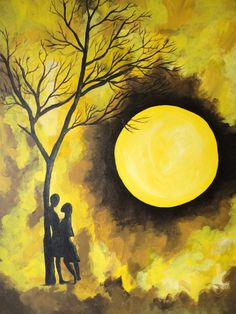 Easy Painting Ideas With Acrylic Paint Ing On Canvas Levonda S Artistic Dreams Black Yellow