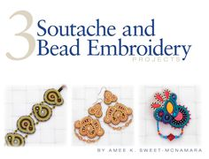Download this digital booklet to create 3 beautiful soutache projects!
