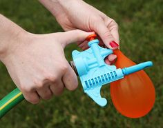 Water balloon filler compliments of Think Geek, $9.99 US