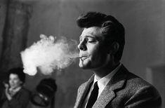 Marcello Mastroianni, 1966, in a photo by Arturo Zavattini