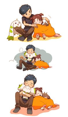 """The work """"なかよし"""" is categorized as Manga and it is the work of """"青条子"""", tagged """"DIGIMON"""", """"デジモンアドベンチャー"""", and other tags. Digimon Wallpaper, Digimon Frontier, Digimon Tamers, Digimon Digital Monsters, Otaku, Digimon Adventure Tri, Fanart, Manga Pictures, Cartoon Characters"""
