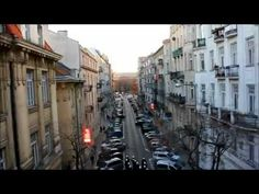 Protesters in Warsaw fly a drone to document activities