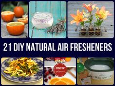 21 DIY Natural Air Fresheners For The Most Beautiful Smelling Home Homemade Cleaning Products, Natural Cleaning Products, Cleaning Diy, Green Cleaning, Natural Products, Cleaning Supplies, Stove Top Potpourri, Room Scents, Natural Air Freshener