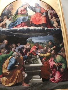 Rafaello e Giulio Romano: Incoronazione della Vergiine o Madonna di Monteluce (Pinacoteca Vaticana). #Museivaticani