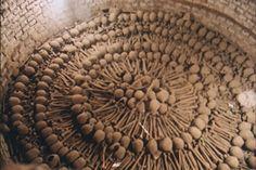 Catacombs beneath Iglesia de San Francisco, a Franciscan church and monastery in central Lima